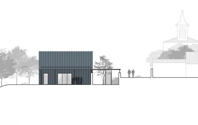 Aufbahrungshalle Wildungsmauer Entwurf_Ing. Helmut KOTZIAN GmbH
